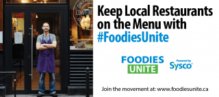 #FoodiesUnite